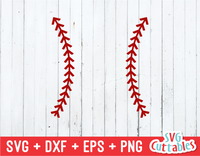 Baseball Stitches | SVG Cut File