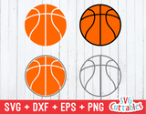Basketballs svg