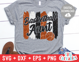 Basketball Aunt | SVG Cut File