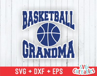 Basketball Grandma svg