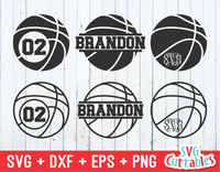 Basketball Monogram Frames