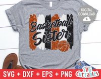 Basketball Sister | SVG Cut File
