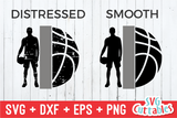 Basketball Half Boys | SVG Cut File