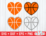Basketballs Hearts