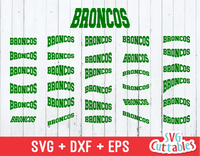 Broncos Layouts