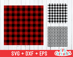 Buffalo plaid pattern svg, plaid svg cut file