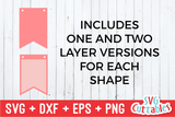 Bunting Banners Bundle | SVG Cut Files