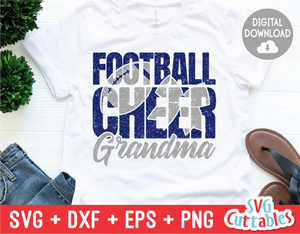 Cheer Grandma  | Football Mom | SVG Cut File