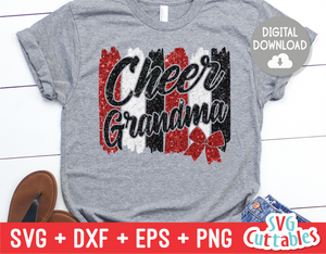 Cheer Grandma | SVG Cut File
