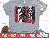 Cheer Aunt | SVG Cut File