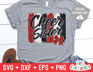 Cheer Sister  | SVG Cut File