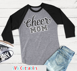 Cheer Mom Script and Chevron