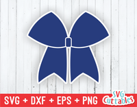 Cheer Bow | Cheer svg Cut File
