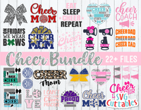 Cheer Bundle #2 | Cheer svg Cut Files