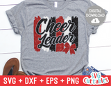 Cheerleader  | SVG Cut File