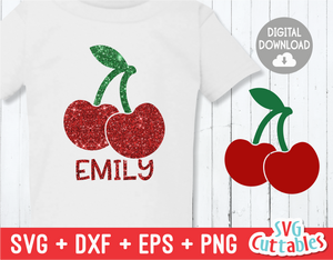 Cherries | Kids | SVG Cut File