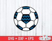Chevron Soccer Ball