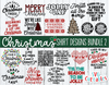 Christmas Shirt Designs Bundle 2  | Cut Files
