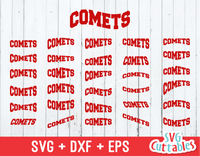 Comets Layouts