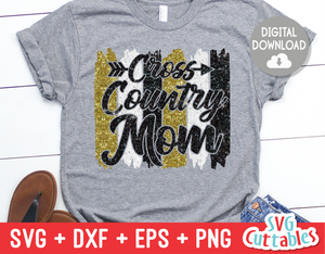 Cross Country Mom | SVG Cut File