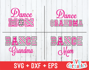 Dance MOM Pattern, Dance Grandma