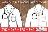 Doctor Coat | SVG Cuttable