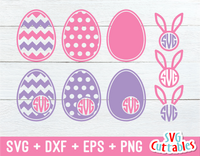 Easter Monogram Frame Set
