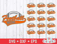 Football Family, Set of 16 Football Vectors