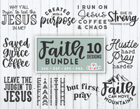 Faith Bundle  |  SVG Cut File