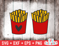 French Fries | Food SVG Cut File