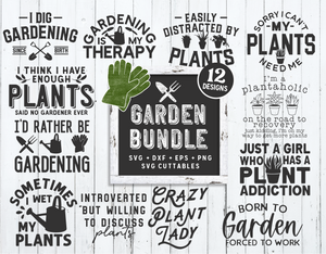 Gardening SVG Bundle