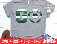 GO Soccer | SVG Cut File