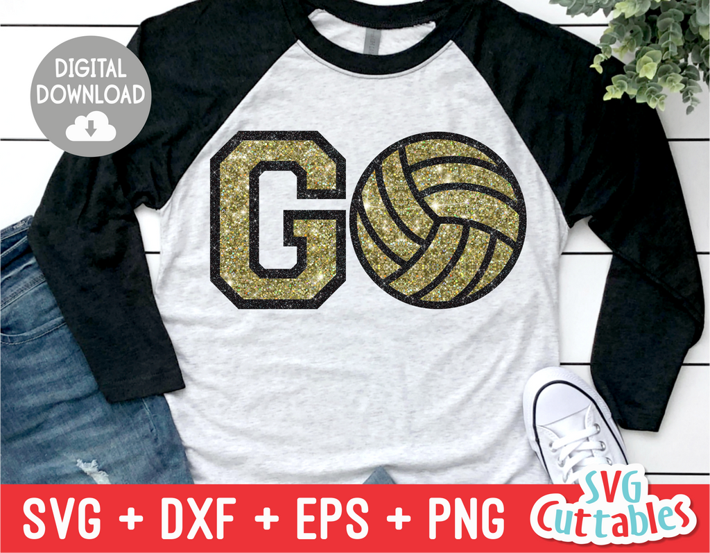 GO Volleyball | SVG Cut File
