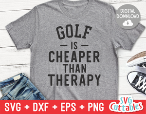 Golf Is Cheaper Than Therapy