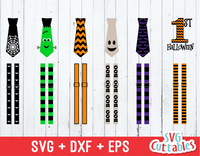 Halloween Ties and Suspenders