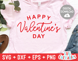 Happy Valentine's Day | Valentine's Day svg Cut File