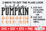 Hello Pumpkin | Fall SVG Cut File