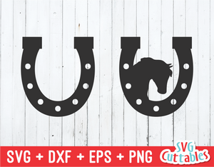 Horse Shoe  | SVG Cut File