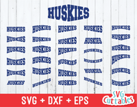 Huskies Layouts