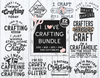 I Love Crafting Bundle | Crafting SVGs