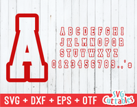 Athletic Sport Font, Sport Alphabet, Athletic Tee Font