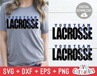 Lacrosse Distressed