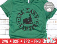 Lawn Ranger  | Father's Day | SVG Cut File