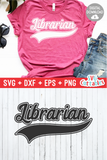 Librarian Swoosh | svg Cut File