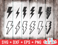 Lightning Bolts | SVG