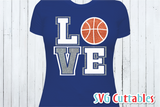 Sports Balls SVG  Love / Mom