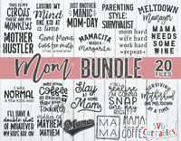 Mom Bundle  | Mom SVG Cut File