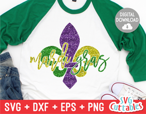 Mardi Gras SVG Cut File