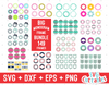 Big Monogram Frame Bundle of 149 Frames