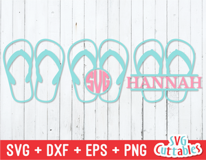 Flip Flops | Summer | SVG Cut File